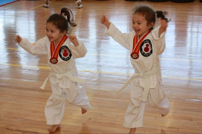 Taekwondo mini juniors